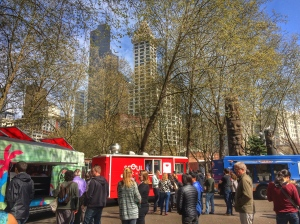Food truck photo