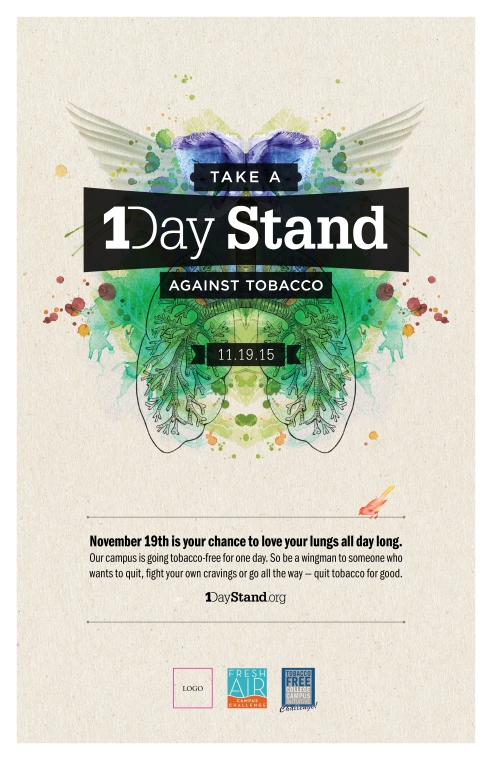 1Day Stand - Take a 1Day Stand Poster JPEG - Nov 2015