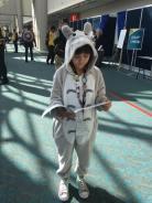 Totoro! Double adorbs! And reading No Ordinary Flu!