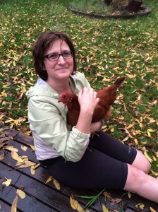 Anneleen Severynen builds resilience spending time with her chickens