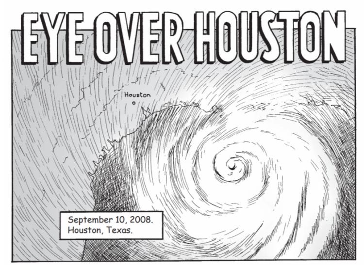Eye over Houston
