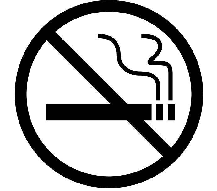 non smoking icon